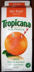 Old Tropicana Package